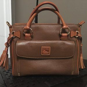 Dooney and Bourke Pebbled Leather Handbag